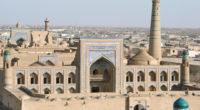 La_médersa_Mohammed_Rakhim_Khan_(Khiva,_Ouzbékistan)_(5606468162)