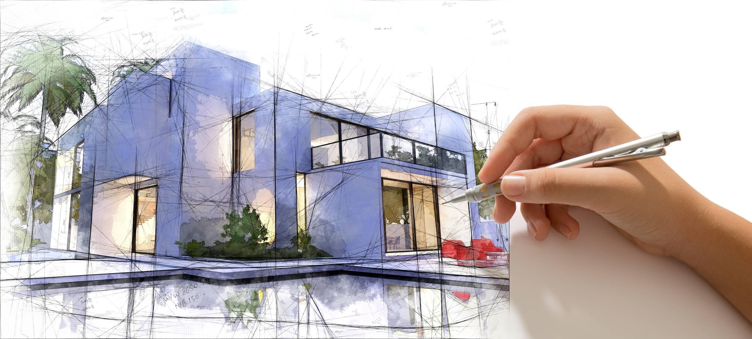 architecte luxe construction villa