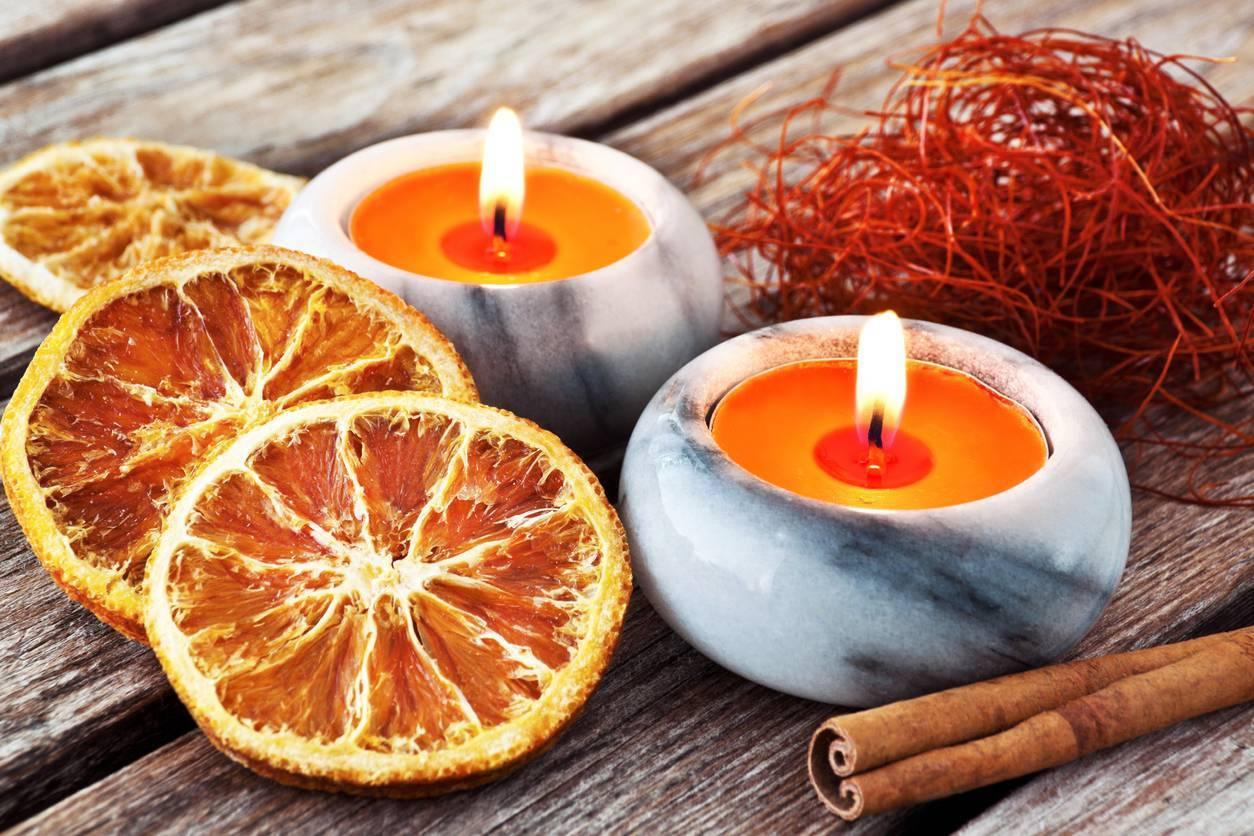 bougie aromatique