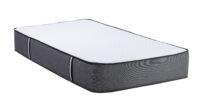 Orthopedic soft mattress for sleeping isolated on white background
